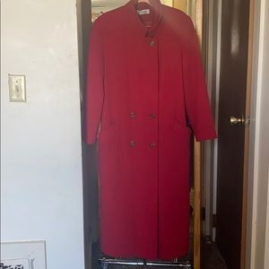 Forecast 100% Wool Coat | Color Red| Size 8